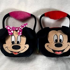 Disney Flipeez Plus Minnie and Mickey Mouse Basket